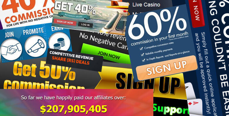 Online Casino Affiliate Programs