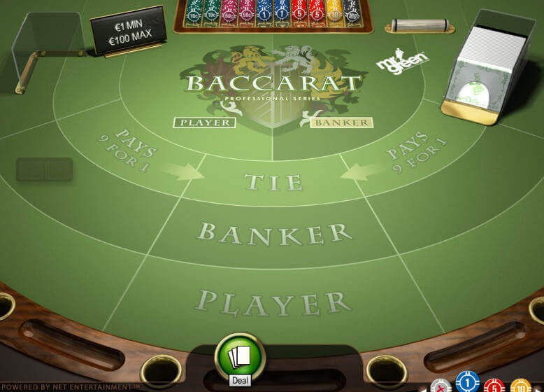 Baccarat Demo Game