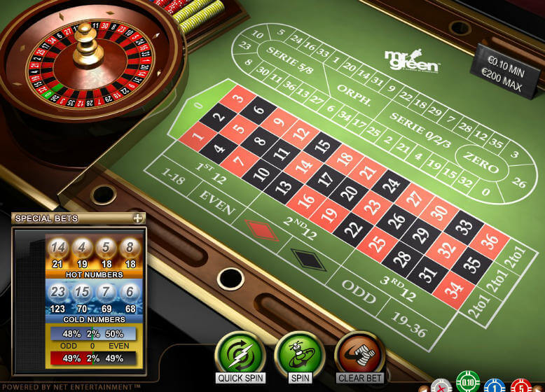 roulette for fun online