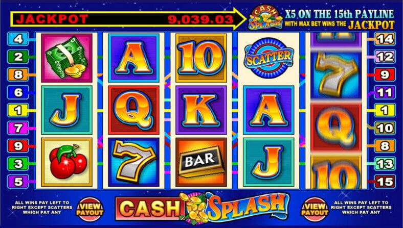 Spiele Cash Splash 3 Reel - Video Slots Online
