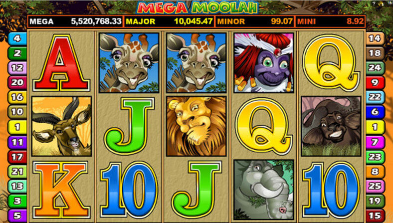 Mega Moolah Jackpot Value