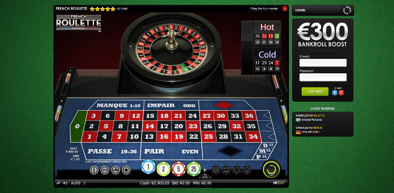 Roulette Casinos for Real Money